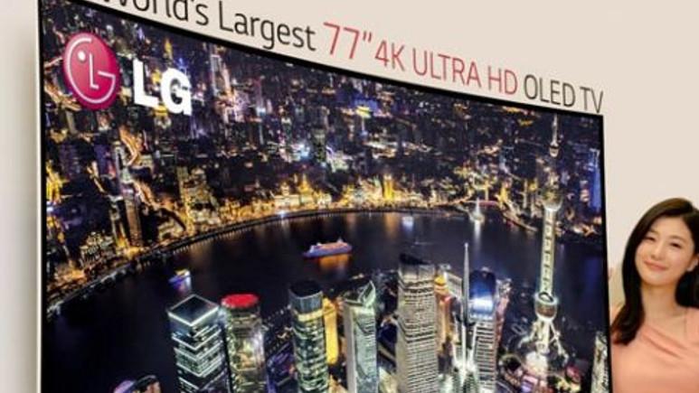 CES 2014: LG'den yeni OLED TV serisi