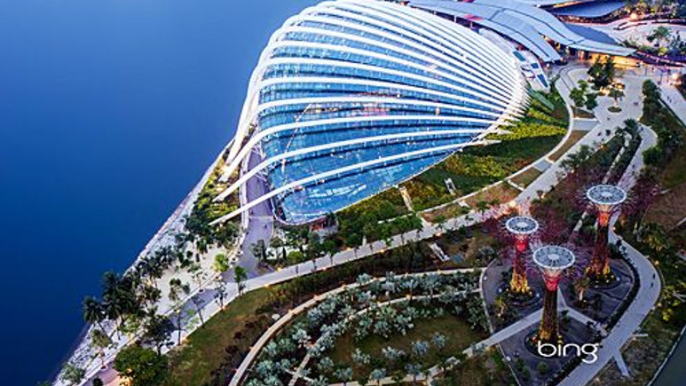 İşte kendi enerjisini üreten dünyanın en büyük tropikal bahçesi!