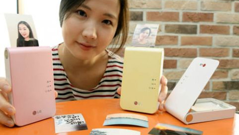 LG'den yeni Pocket Photo 2