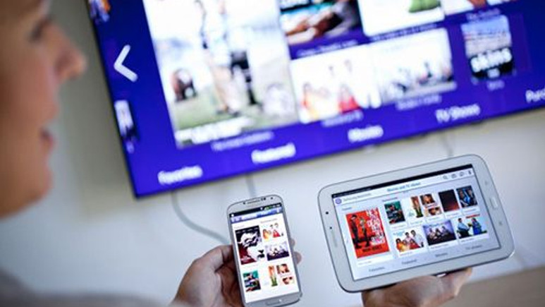 Samsung WatchON'un yeni arayüzü göründü!