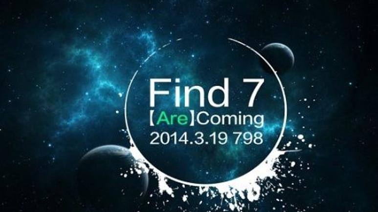 Oppo Find 7 kutusundan çıktı!