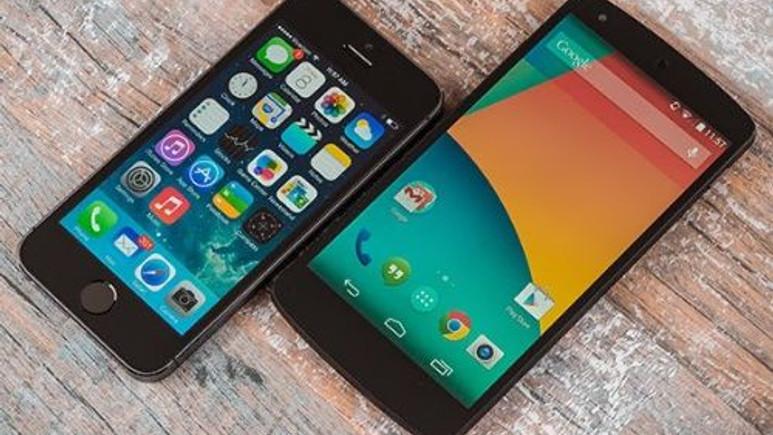 iPhone 5S ve Nexus 5, açılış hızı karşılaştırması! (Video)