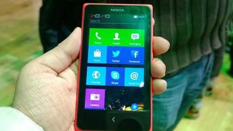 Nokia X'in 1 milyon ön sipariş elde etmediği ortaya çıktı