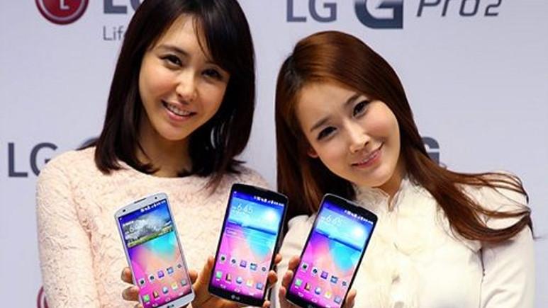 LG G Pro 2 Güney Kore dışında satışa sunuluyor