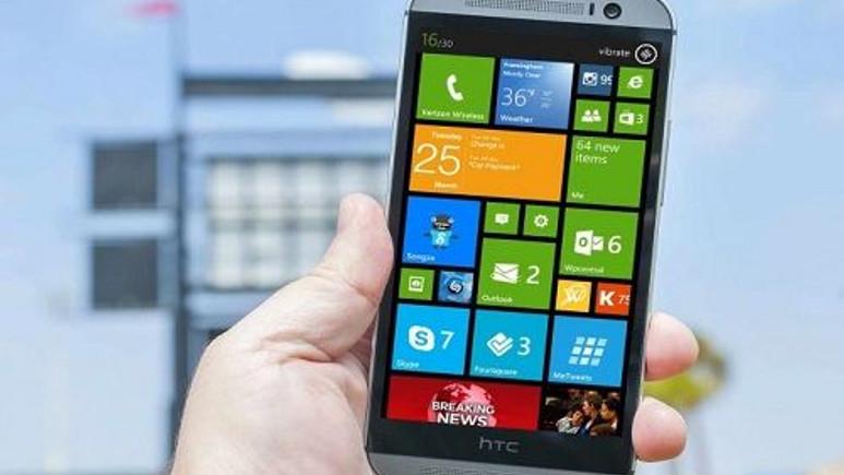 HTC M8'in Windows Phone'lu seçeneği tanıtılabilir