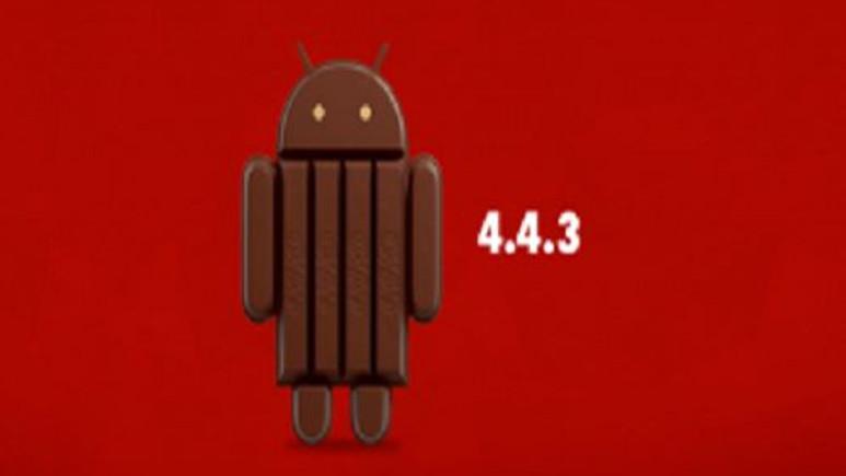 Android 4.4.3 Güncellemesi Göründü
