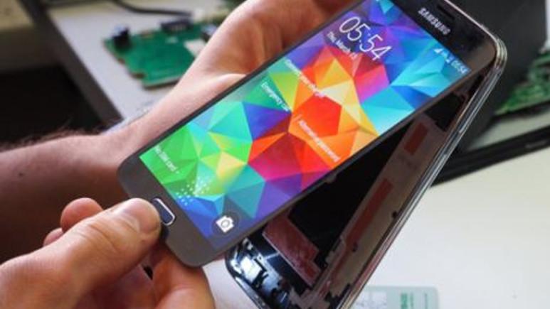 Samsung Galaxy S5 paramparça! Video