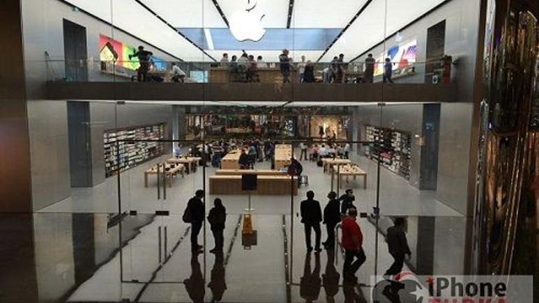 Apple Store Türkiye'den ilk kareler