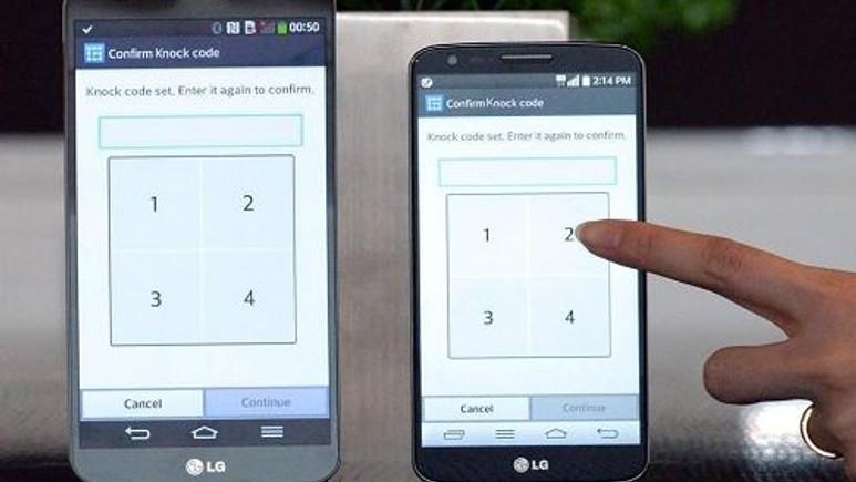 LG G2, Knock Code özelliğine kavuştu