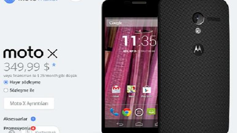 Motorola Moto X yeni ismiyle yepyeni bir şekilde geliyor!