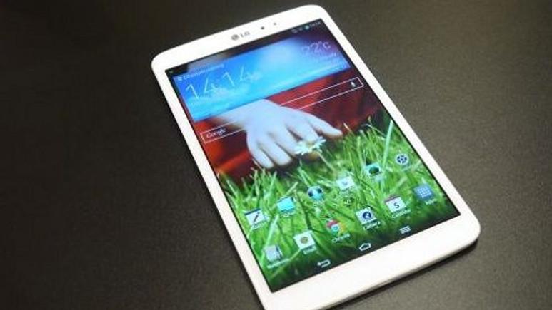 LG G Pad 8.3, Android 4.4.2'ye kavuştu