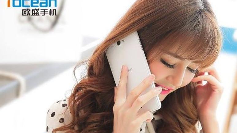 Tasarım harikası akıllı Selfie telefonu: iOcean X8!