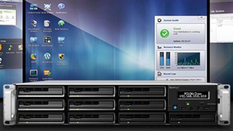 DiskStation'da harici diskleri yönetme