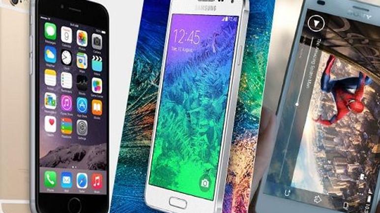 iPhone 6, Galaxy Alpha, Xperia Z3 Compact teknik özellik karşılaştırması