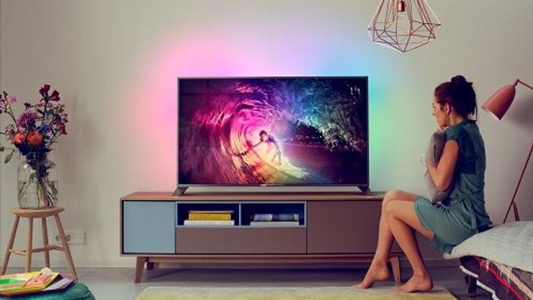 Android'li Philips TV'ler Spotify müzik servisine bağlanan ilk Smart TV'ler oldu