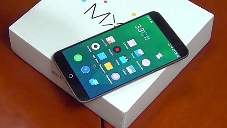 Meizu'nun üst seviye akıllı telefonu  MX4 satışa sunuldu