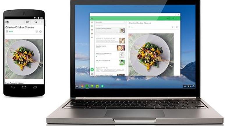 Android uygulamaları Chrome OS'ta çalıştırılmaya başlandı