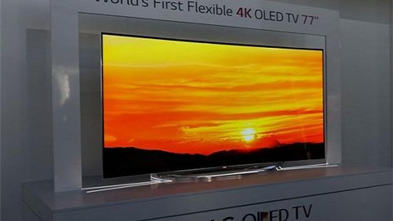 LG, 4K Ultra HD çözünürlüklü OLED TV'leri videoda gösteriyor