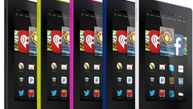 Amazon Kindle Fire HD 6 ve Fire HD 7 resmiyet kazandı