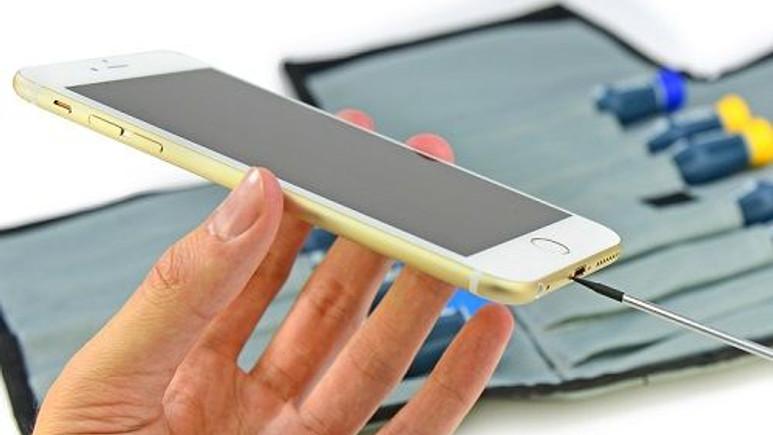 iFixit ekibi iPhone 6 Plus'ı parçalarına ayırdı