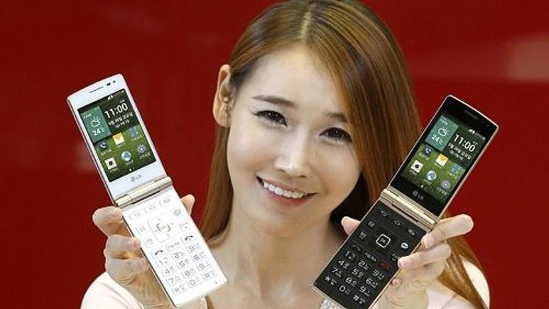 LG'nin kapaklı telefonu Wine Smart resmiyet kazandı