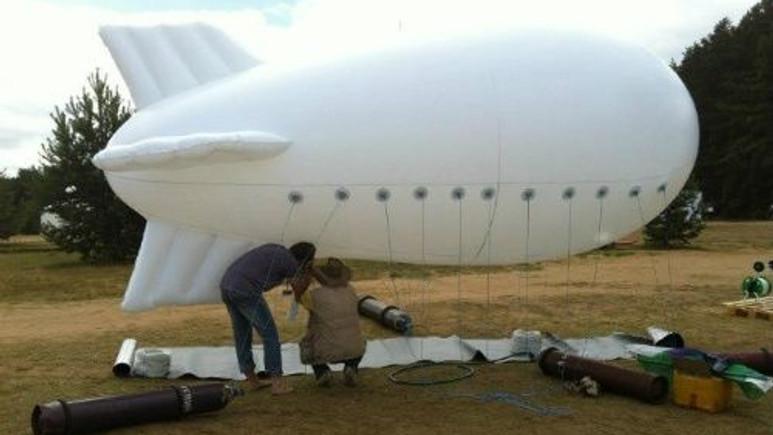 Balonla bulutlardan su toplama işlemi başarıyla gerçekleştirildi!