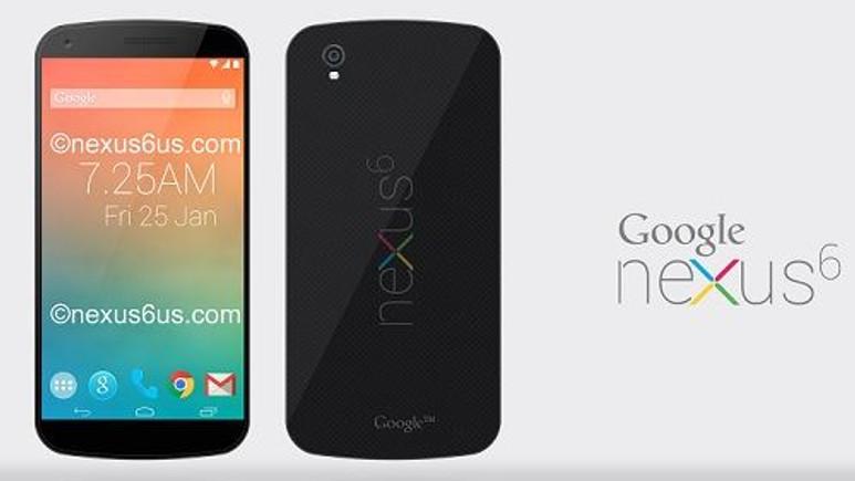 Merakla beklenen Nexus 6 nihayet göründü