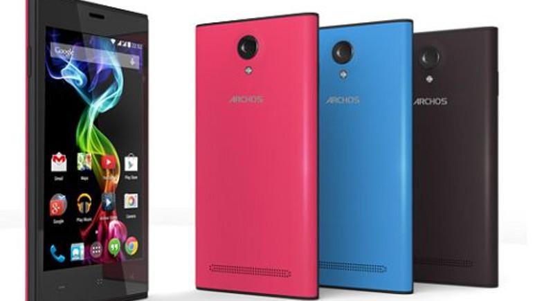 Archos'tan bütçe dostu Android telefonlar!