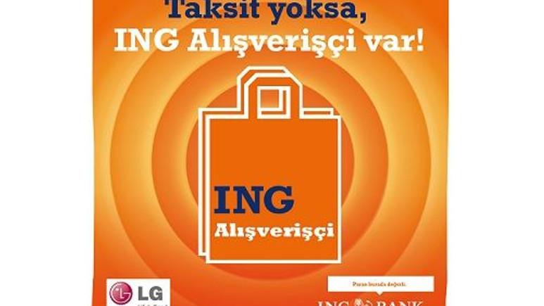 LG Electronics ve ING Bank işbirliğiyle cep telefonu dahil tüm ürünlerde taksit rahatlığı