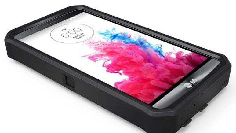 LG G3 için 9.000mAh kapasiteye sahip pilli kılıf