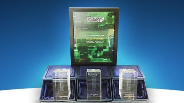 Digital Impact Awards'tan Turkcell'e 4 ödül birden