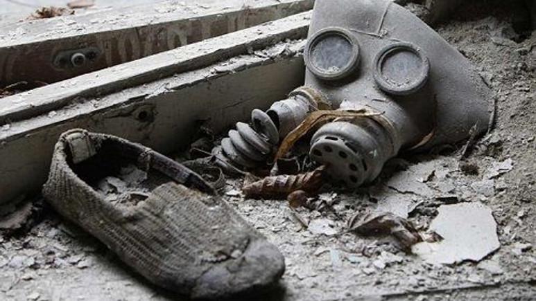 Hayalet kent Çernobil'in tüyler ürperten görüntüleri