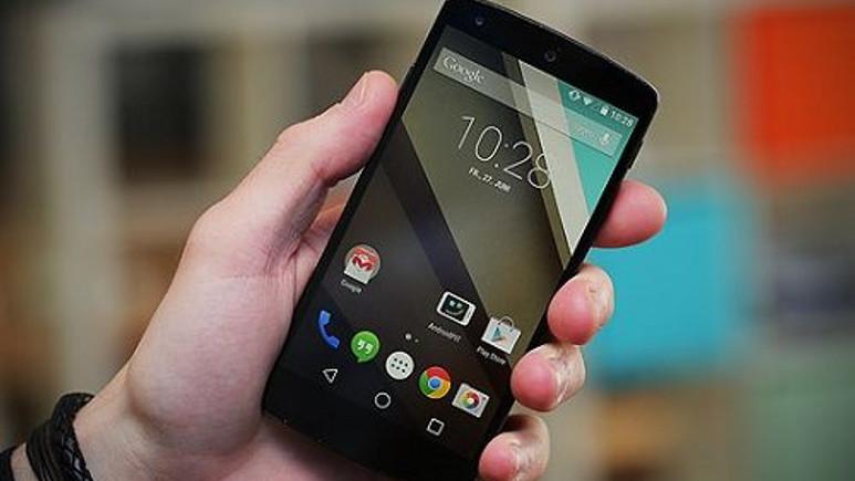 Android 5.0.1 ülkemiz Nexus 5 kullanıcılarına ulaşmaya başladı
