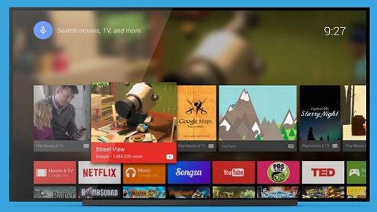 Android TV Launcher Google Play'de yayınlandı