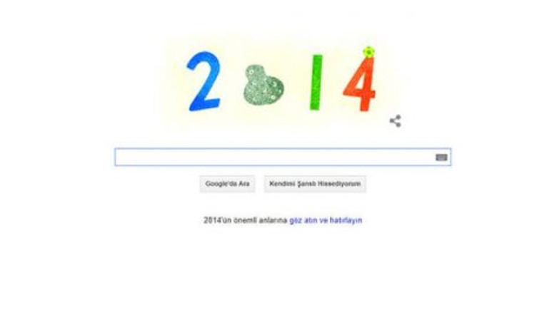 2014'ün trend konuları Google'a Doodle oldu