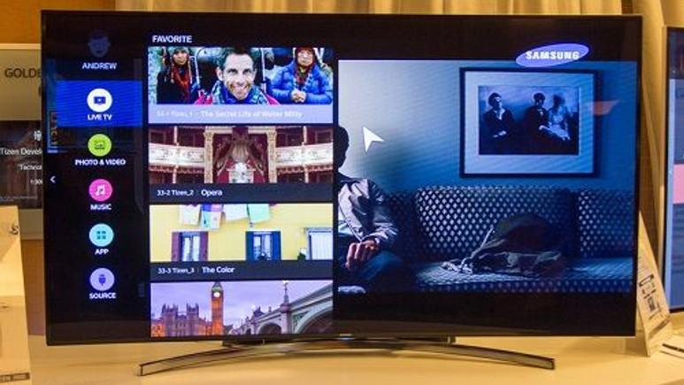 Samsung'un yeni televizyonları Tizen tarafından desteklenecek