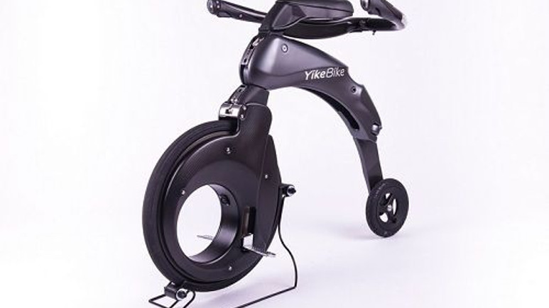 Yike Bike'ın yeni katlanabilir elektrikli bisikletleri görücüye çıktı