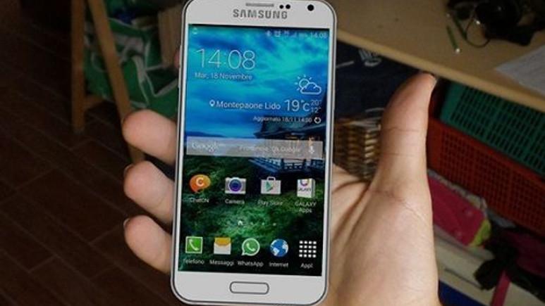 Galaxy S6'nın tasarımı ortaya çıktı