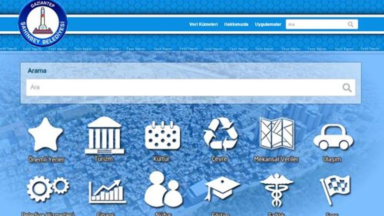 Türkiye'nin ilk yerel yönetimler açık veri portalı!