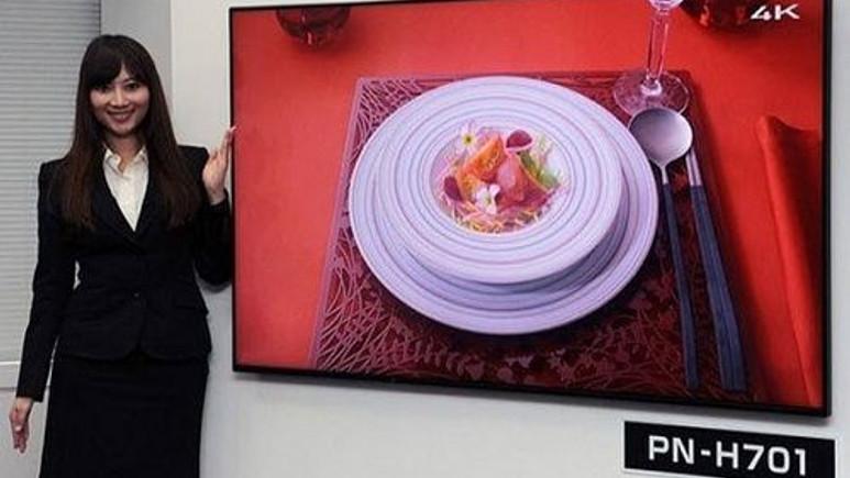 Sharp'tan yatay ve dikey modda kullanılabilen 4K Ultra HD TV