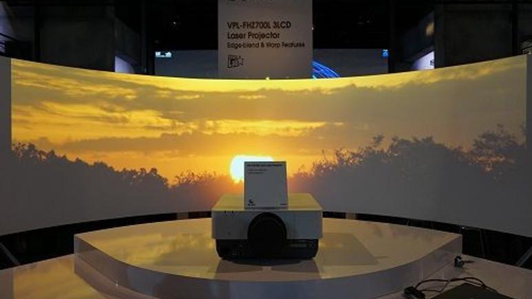 Sony ISE 2015'te 4K Lazer Projeksiyon cihazlarını sergileyecek