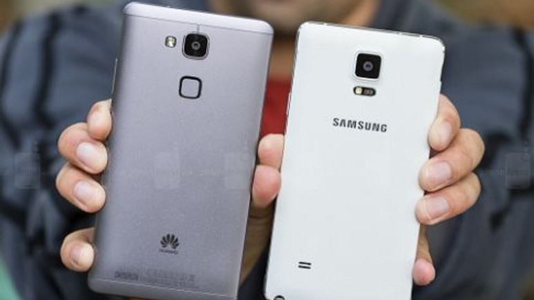 Huawei Ascend Mate 7 ve Samsung Galaxy Note 4 fotoğraf karşılaştırma