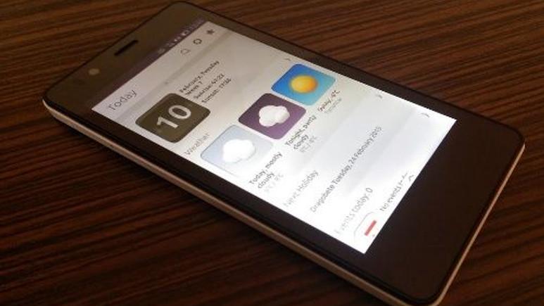 Ubuntu OS'lu akıllı telefon BQ Aquaris E4.5, yoğun ilgiye dayanamadı!