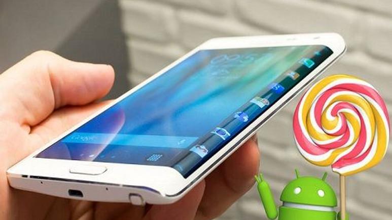 Galaxy Note Edge için Android 5.0 güncellemesi başladı