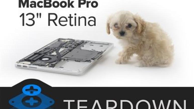 Yeni 13 inç Retina Ekran MacBook Pro paramparça
