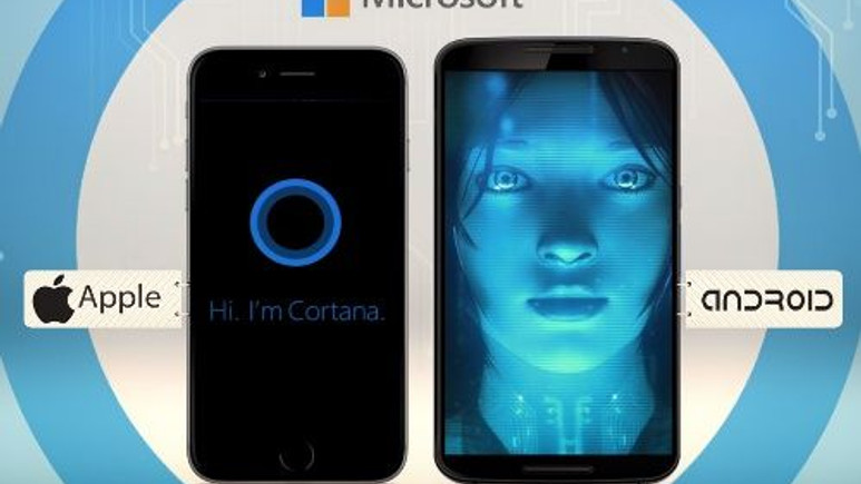 Cortana, iOS ve Android'e geliyor