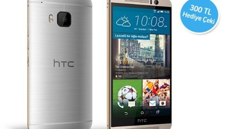 HTC One M9 Turkcell'de ön satışa sunuldu