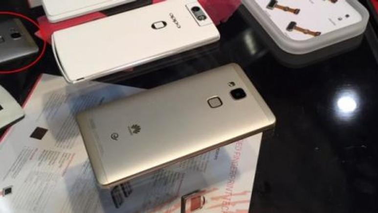 İlginç parmak izi sensörüne sahip Huawei Mate7 Mini sızdırıldı