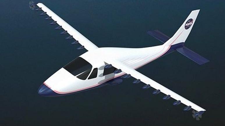 NASA elektrikli uçak konseptini test etmeye başladı