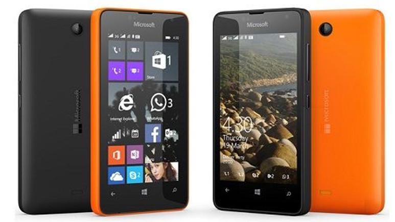 Microsoft'un en uygun fiyatlı akıllı telefonu Lumia 430 resmiyet kazandı